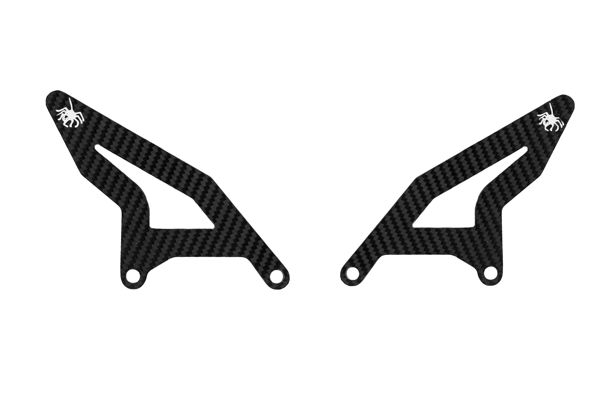 Gazechimp Protezione Poggiapiedi Heel Moto Fender per Quad